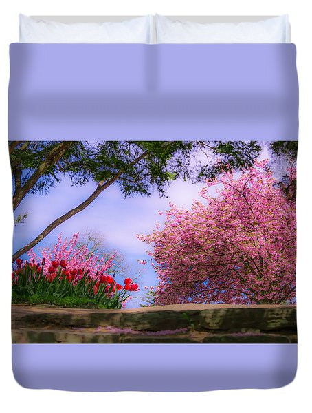 Dreamy Tulip Respite Duvet Cover