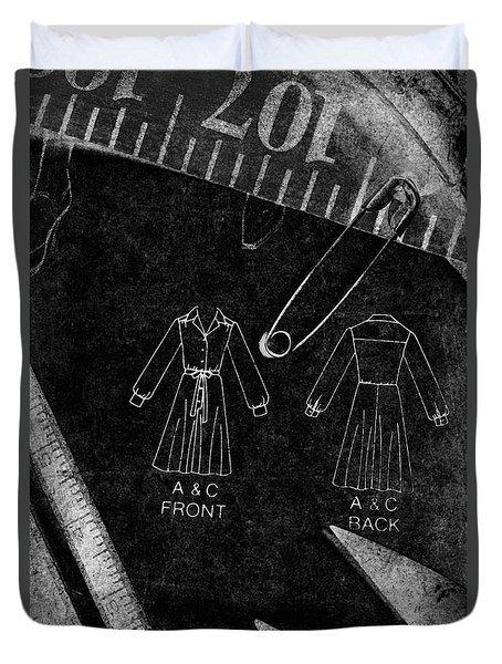 Dressmaking Handiwork Duvet Cover