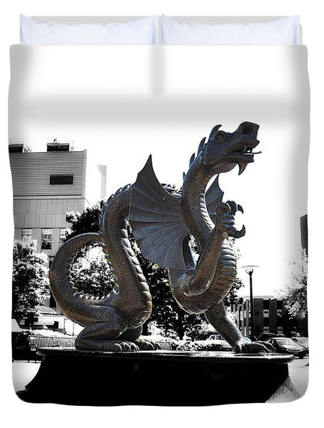Drexel Dragon Duvet Cover by Bill Cannon