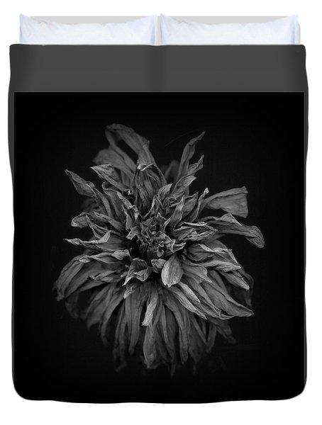 Dried Dahlia 2 Duvet Cover