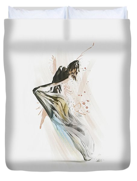 Drift Contemporary Dance Duvet Cover