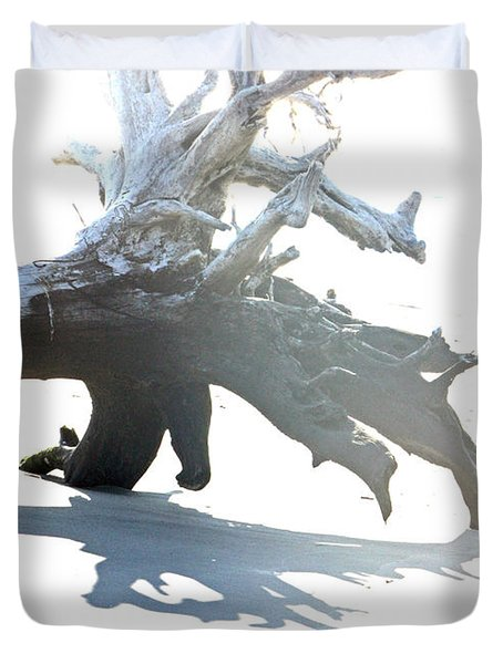 Drift Wood Duvet Cover