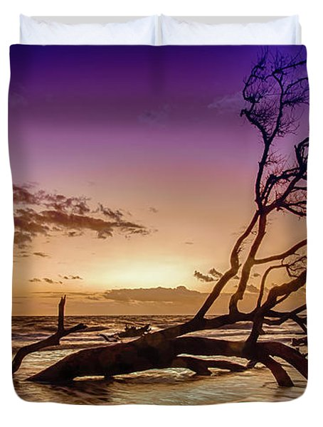 Driftwood Beach 2 Duvet Cover