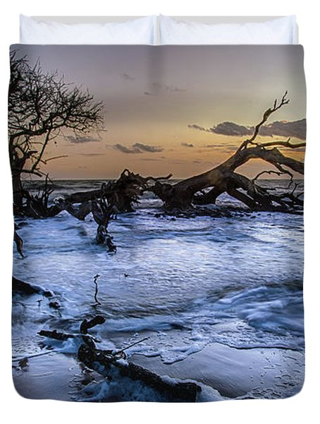 Driftwood Beach 3 Duvet Cover