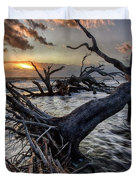Driftwood Beach 5 Duvet Cover