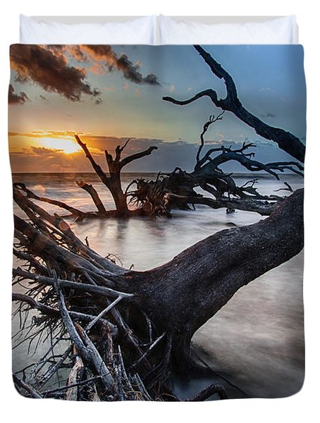 Driftwood Beach 6 Duvet Cover
