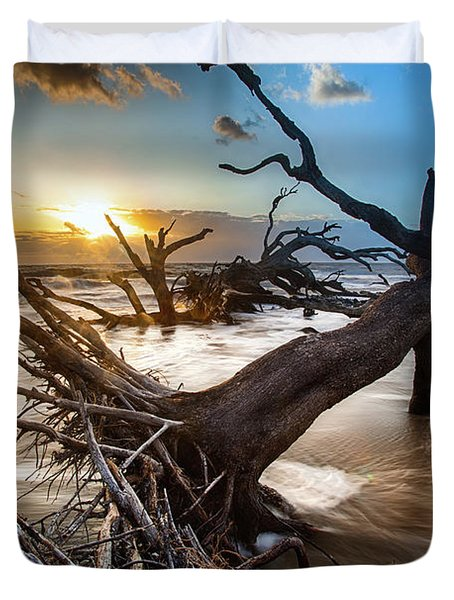 Driftwood Beach 7 Duvet Cover