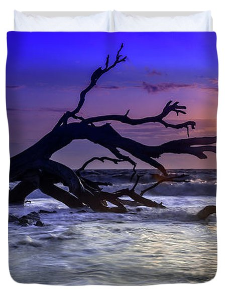 Driftwood Beach 9 Duvet Cover