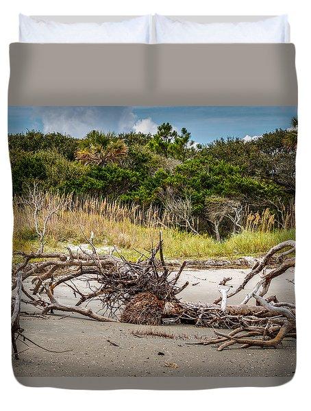 Driftwood Duvet Cover by Doug Long