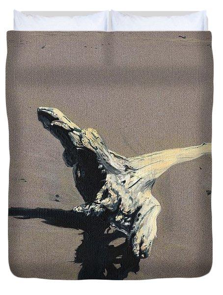 Coastal Driftwood Duvet Cover