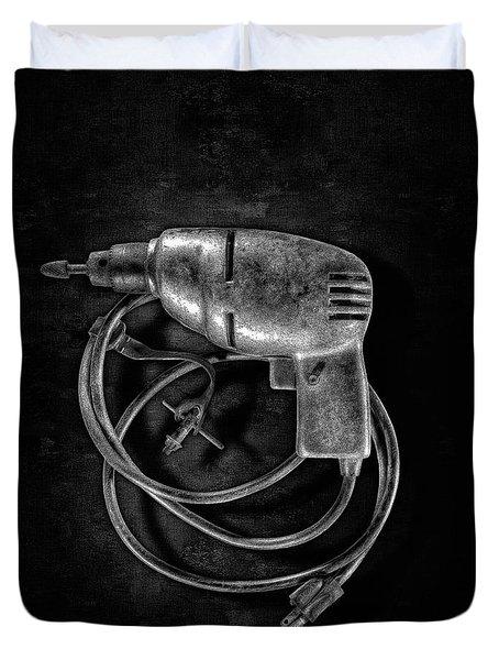 Drill Motor Trigger Duvet Cover