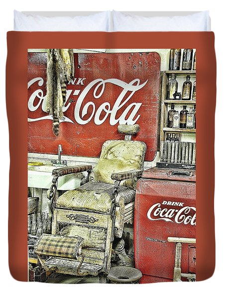 Drink Coca-cola Duvet Cover