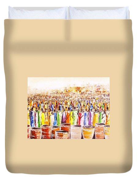 Drink Festival Duvet Cover