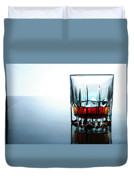 Drink In A Glass Duvet Cover by Jun Pinzon