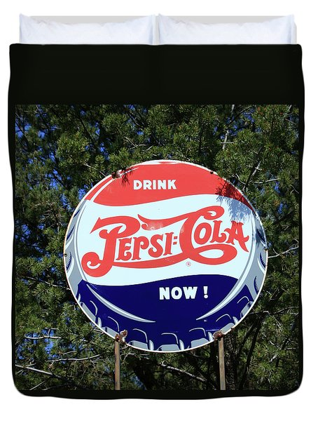 Drink Pepsi - Cola Now  Duvet Cover