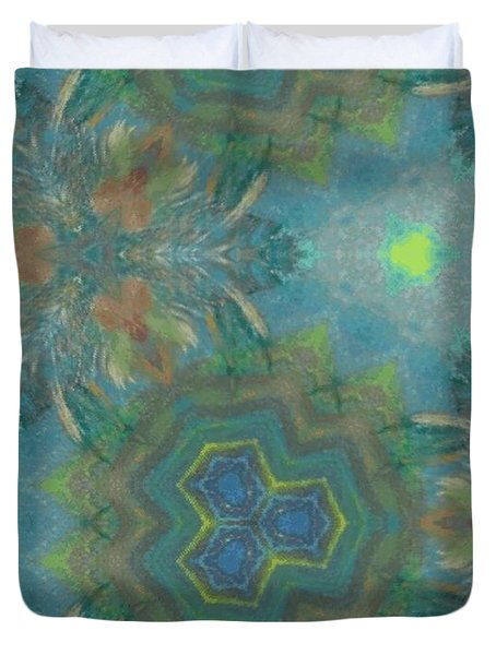 Drinking The Nectar Of Life Duvet Cover