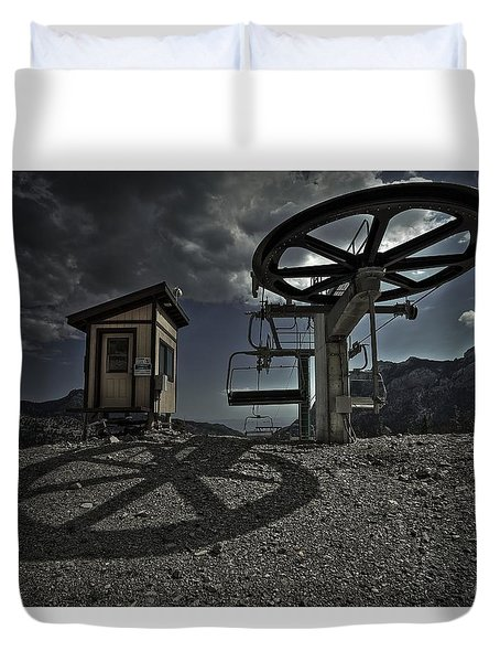 Duvet Cover featuring the photograph Drip Dry  by Mark Ross