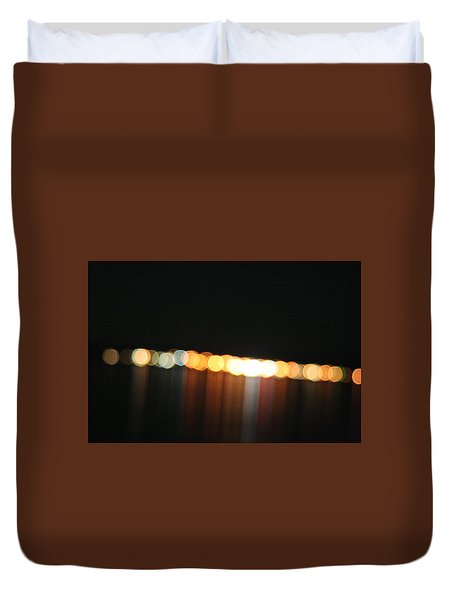 Dripping Light Duvet Cover by David S Reynolds