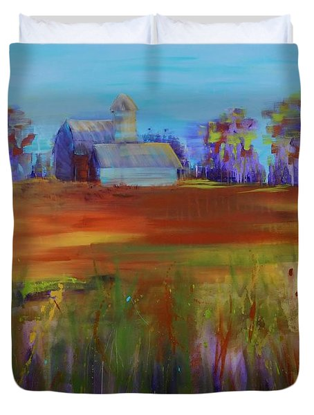 Drive-by View Duvet Cover