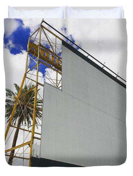 Drive-in Fort Lauderdale, Florida Duvet Cover