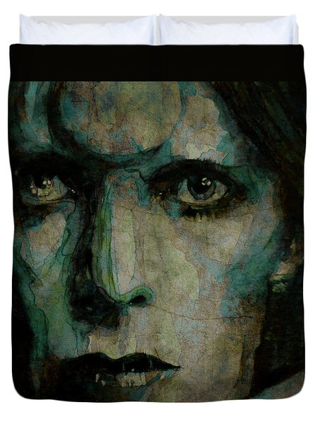 Drive In Saturday@ 2 Duvet Cover by Paul Lovering