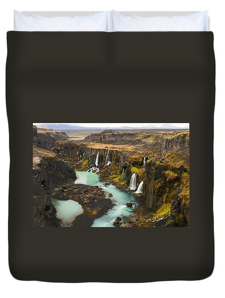 Driven To Tears Duvet Cover