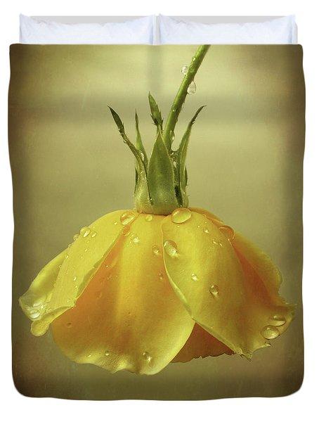 Drop Rose Duvet Cover