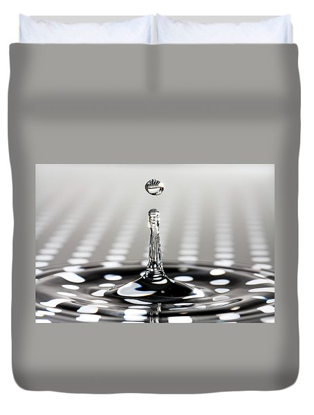 Droplet Dots Duvet Cover