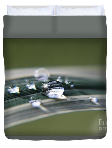 Droplet Families  Duvet Cover