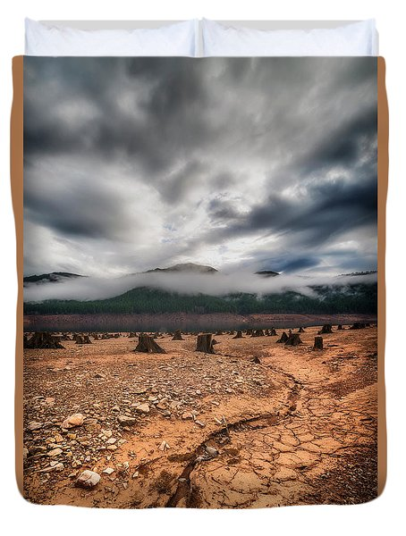 Duvet Cover featuring the photograph Drought by Ryan Manuel