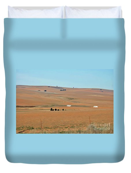 Drought-stricken South African Farmlands - 1 Of 3  Duvet Cover