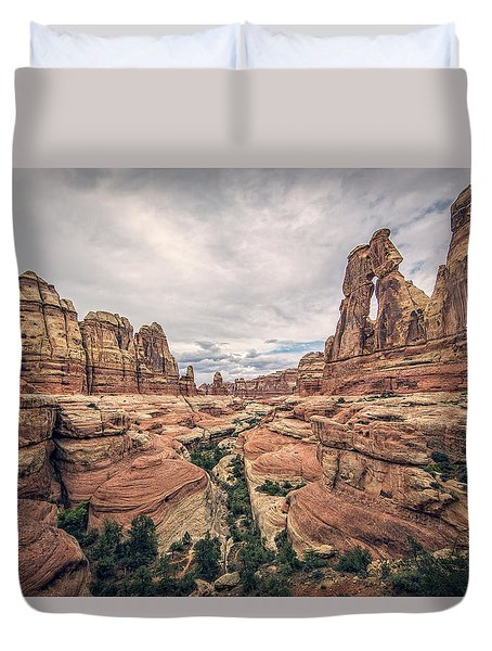 Druid Arch Duvet Cover
