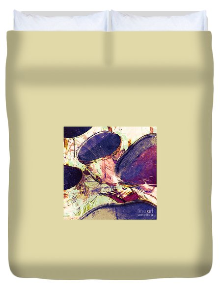 Drum Roll Duvet Cover