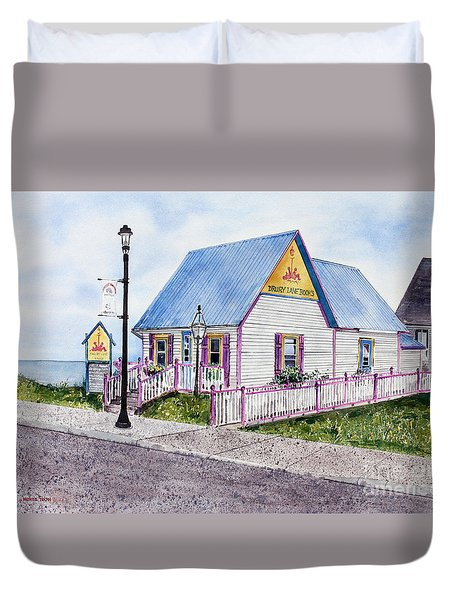 Drury Lane Books Duvet Cover