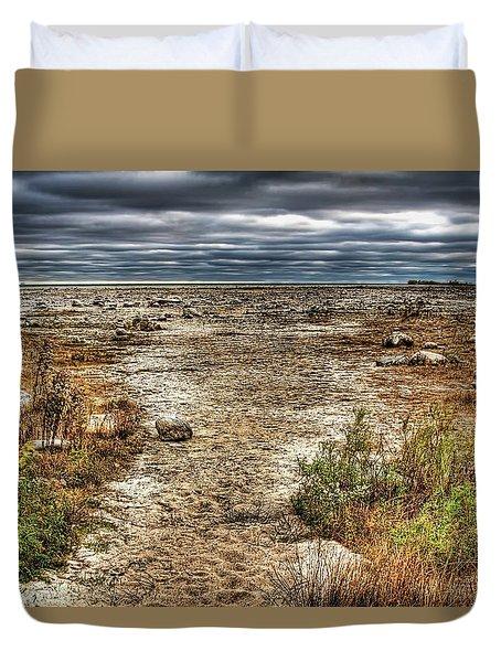 Dry Beach Duvet Cover