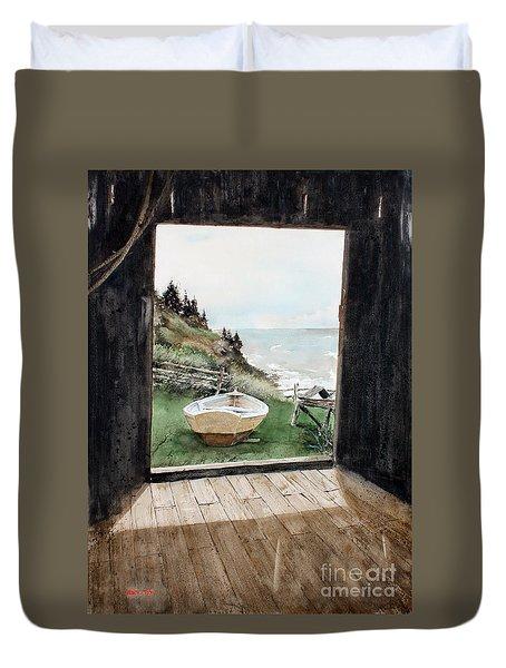 Dry Docked Duvet Cover