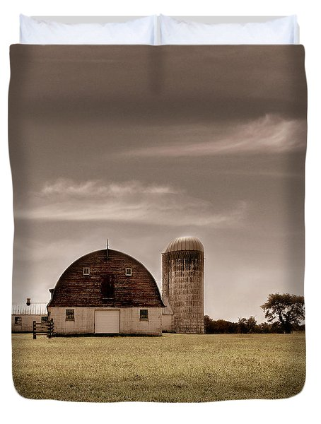 Dry Earth Crumbles Between My Fingers And I Look To The Sky For Rain Duvet Cover by Dana DiPasquale