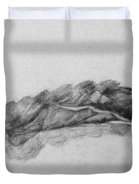 Dry Leaf  Duvet Cover