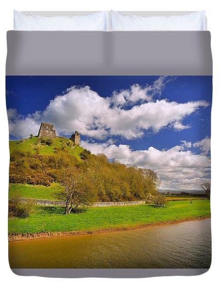 Dryslwyn Casle 1 Duvet Cover