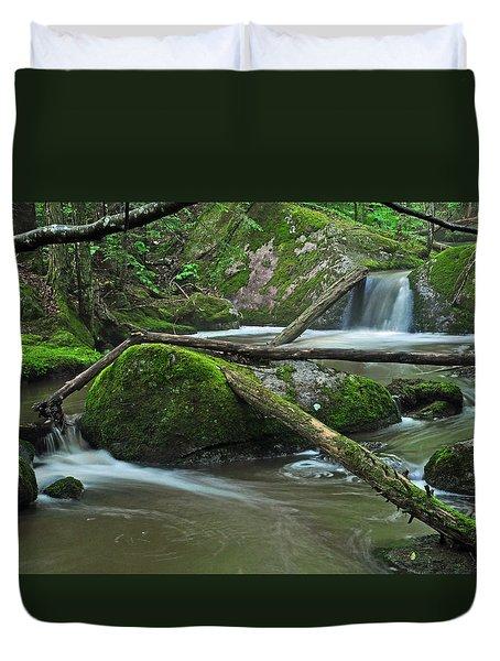 Dual Falls Duvet Cover
