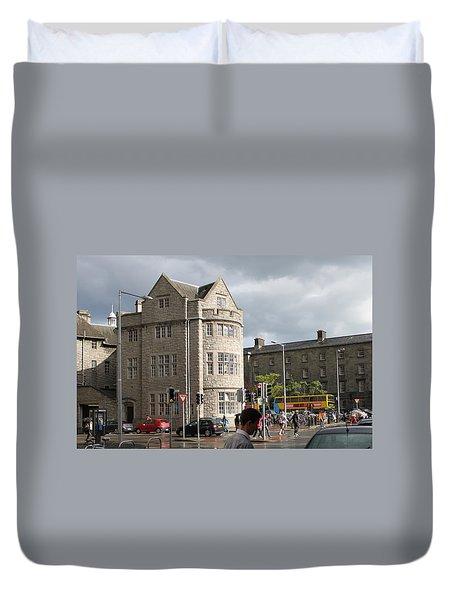 Dublin Near Pearse Street Duvet Cover