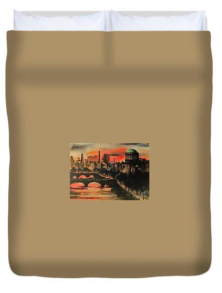 Dublin Sunset Duvet Cover