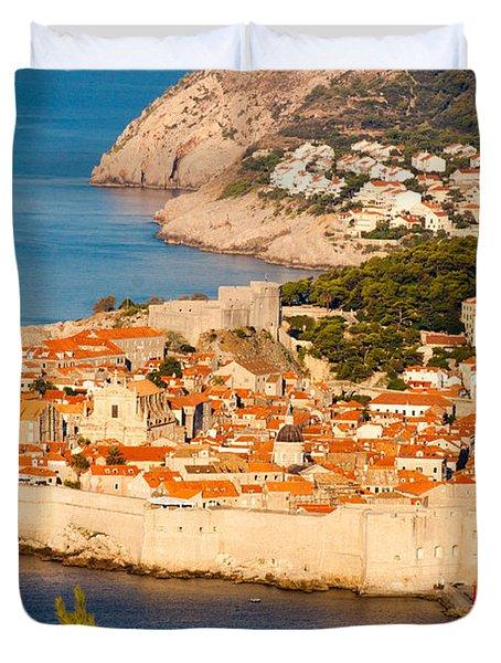 Dubrovnik Old City Duvet Cover