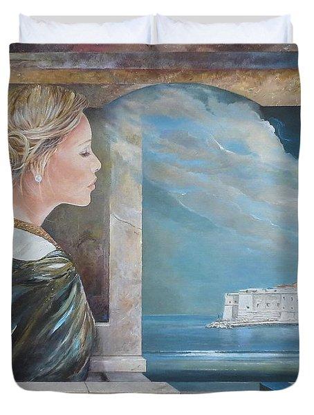 Dubrovnik On My Mind Duvet Cover