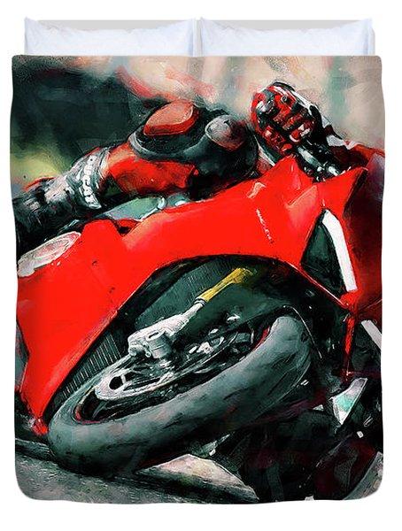 Ducati Panigale V4 - 01 Duvet Cover