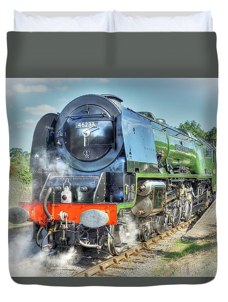 Duchess At Butterley Station Duvet Cover