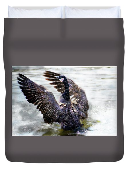 Duck Conductor Duvet Cover