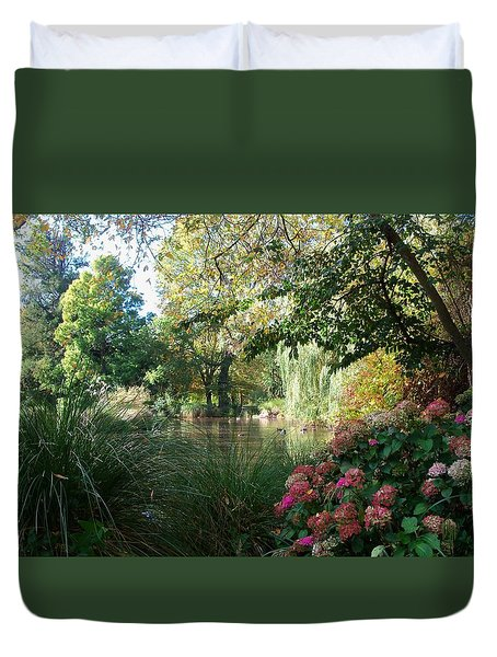 Duck Haven Duvet Cover