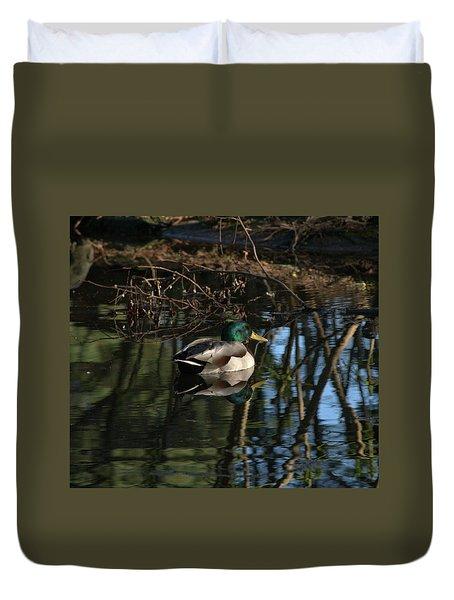 Duck Resting Duvet Cover