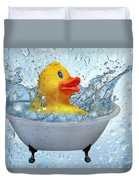 Duck Rubber Duvet Cover